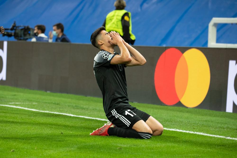 Djasur Yakhshibaev Real Madrid Sheriff Tiraspol